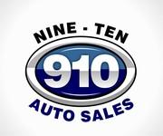910 Auto Sales Logo - Entry #112