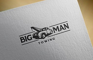 Big Man Towing Logo - Entry #48