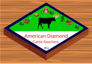 American Diamond Cattle Ranchers Logo - Entry #116