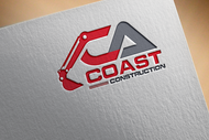 CA Coast Construction Logo - Entry #139