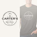 Carter's Commercial Property Services, Inc. Logo - Entry #139