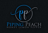 Piping Peach, Honey Lemon Pepper Logo - Entry #18
