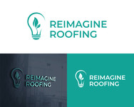 Reimagine Roofing Logo - Entry #3