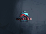 Rock Solid Seafood Logo - Entry #91