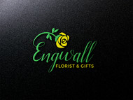 Engwall Florist & Gifts Logo - Entry #207