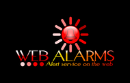 Logo for WebAlarms - Alert services on the web - Entry #65