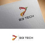 B3 Tech Logo - Entry #98