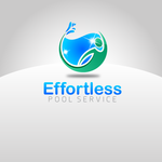 Effortless Pool Service Logo - Entry #17