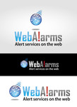 Logo for WebAlarms - Alert services on the web - Entry #46