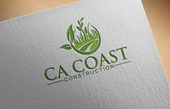 CA Coast Construction Logo - Entry #271