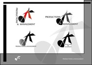 Corporate Logo Design 'AD Productions & Management' - Entry #17