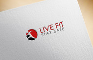 Live Fit Stay Safe Logo - Entry #192
