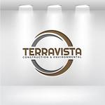 TerraVista Construction & Environmental Logo - Entry #390