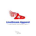 LiveDream Apparel Logo - Entry #458