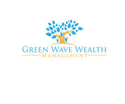 Green Wave Wealth Management Logo - Entry #369