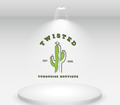 Twisted Turquoise Boutique Logo - Entry #61
