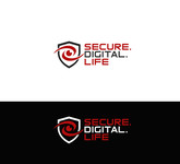 Secure. Digital. Life Logo - Entry #13