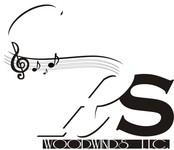 Woodwind repair business logo: R S Woodwinds, llc - Entry #37