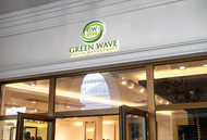 Green Wave Wealth Management Logo - Entry #421