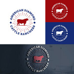 American Diamond Cattle Ranchers Logo - Entry #9