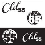 """""""OLD 55"""" - mid-century vintage furniture and wares store Logo - Entry #85"""