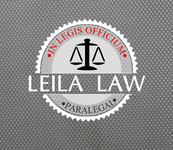Leila Law Logo - Entry #114