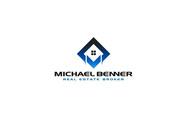 Michael Benner, Real Estate Broker Logo - Entry #46