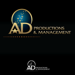 Corporate Logo Design 'AD Productions & Management' - Entry #134