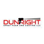 Dun Right Spray Foam and Coating LLC Logo - Entry #63