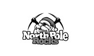 North Pole Rocks Logo - Entry #14