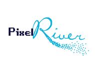 Pixel River Logo - Online Marketing Agency - Entry #140
