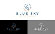 Blue Sky Life Plans Logo - Entry #311
