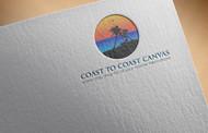 coast to coast canvas Logo - Entry #9