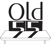 """""""OLD 55"""" - mid-century vintage furniture and wares store Logo - Entry #88"""