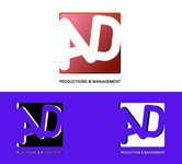 Corporate Logo Design 'AD Productions & Management' - Entry #43