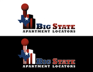 Big State Apartment Locators Logo - Entry #17