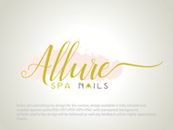 Allure Spa Nails Logo - Entry #59