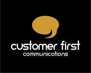 Customer First Communications Logo - Entry #84