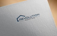 Revolution Roofing Logo - Entry #463