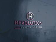 Revolution Fence Co. Logo - Entry #381
