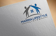 Marina lifestyle living Logo - Entry #19