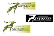 ArtMoose Gallery Logo - Entry #62