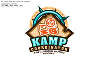KAMPcoordinator : Kids' Adventure Mapping Program   Logo - Entry #33