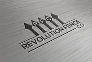 Revolution Fence Co. Logo - Entry #266
