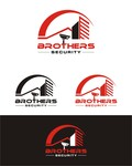 Brothers Security Logo - Entry #237
