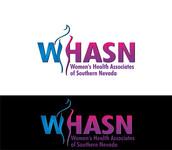 WHASN Women's Health Associates of Southern Nevada Logo - Entry #14
