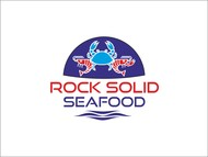 Rock Solid Seafood Logo - Entry #207