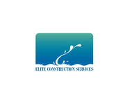 Elite Construction Services or ECS Logo - Entry #329