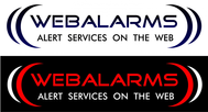 Logo for WebAlarms - Alert services on the web - Entry #179