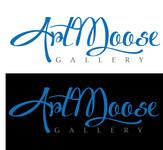 ArtMoose Gallery Logo - Entry #41